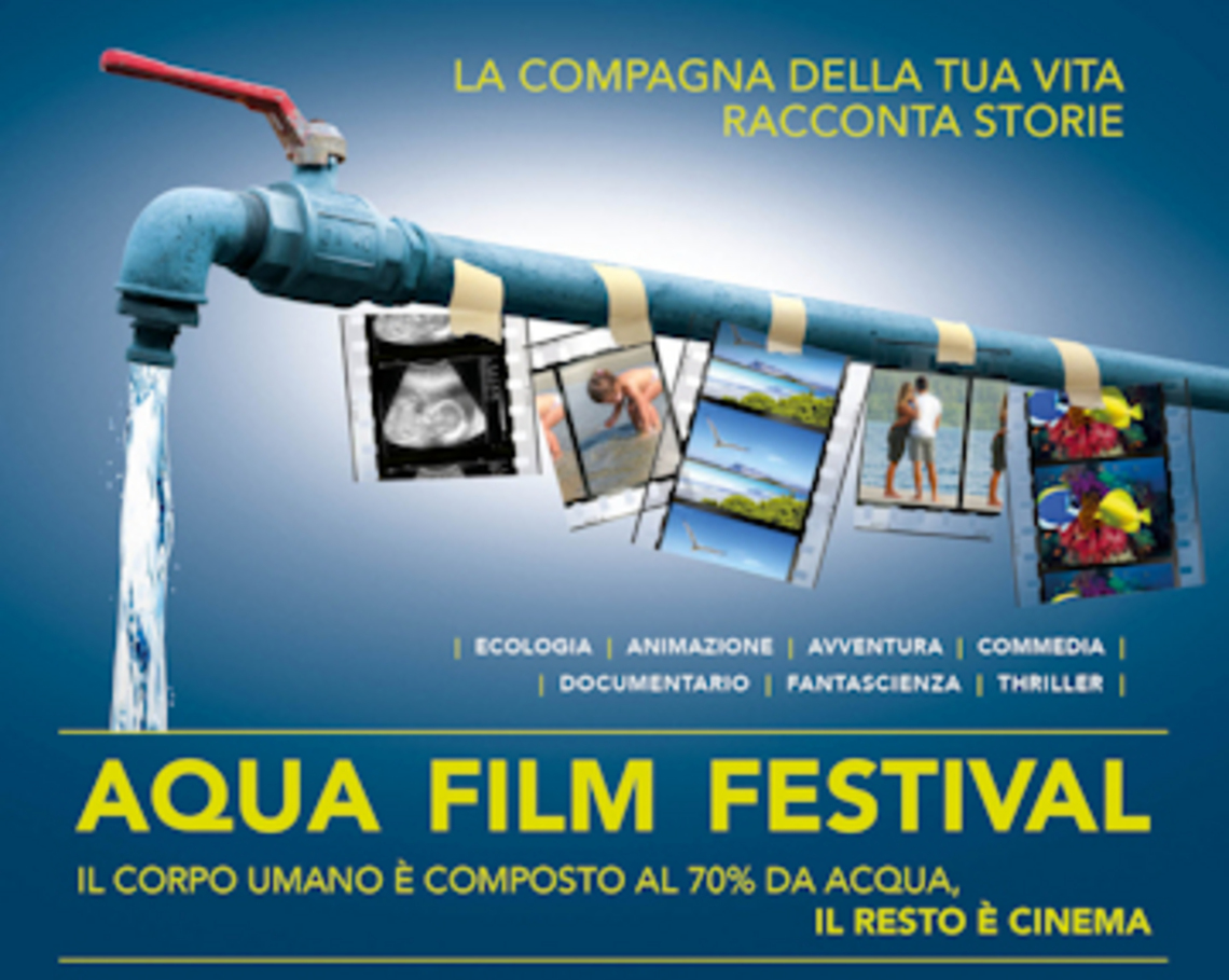 L'acqua e le sue forme: Damast porta la sua mission all'Aqua Film Festival di Roma